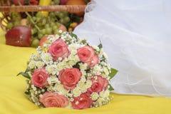 Dress bouquet Stock Images