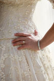 Dress of a bride Stock Image