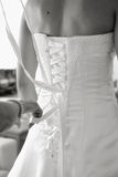 Dress the bride Royalty Free Stock Photography