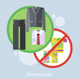 Dress Code Concept Royalty Free Stock Photo