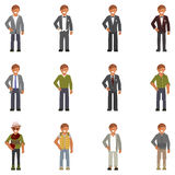 Dress code for man Stock Images