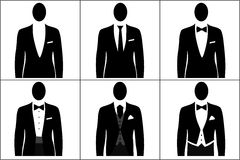 Dress code men Royalty Free Stock Photos