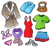Dress collection 1 Stock Photography