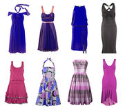 Dress collection Royalty Free Stock Photos