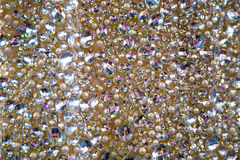 Dress with crystals. And beads Stock Photo
