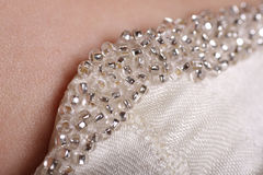 Dress detail Royalty Free Stock Images