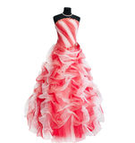 Dress on a dummy Royalty Free Stock Photo