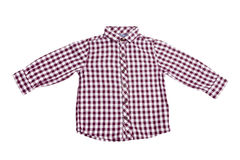 Dress. Fashion shirt isolated Royalty Free Stock Image
