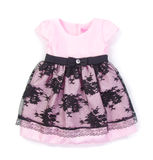 Dress for girls on blackground Royalty Free Stock Images