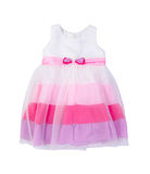 Dress for girls on blackground Royalty Free Stock Image