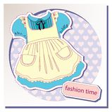 Dress for girls Royalty Free Stock Photography