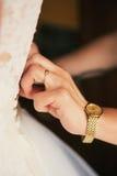 Dress and hand Stock Photos