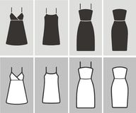 Dress icon Royalty Free Stock Image