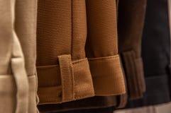 Dress pants hanging stock photography