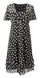 Dress with polka dots Royalty Free Stock Image