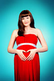 Dress for pregnant Stock Photography