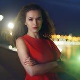 dress red woman young στοκ φωτογραφία με δικαίωμα ελεύθερης χρήσης