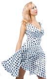 dress retro woman Στοκ Εικόνα