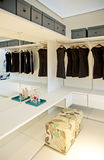 Dress room in house royalty free stock photography