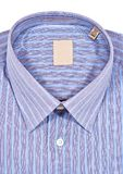 Dress Shirt. A folded pinstriped dress shirt Royalty Free Stock Photography