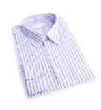 Dress shirt on white background Royalty Free Stock Photo