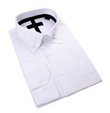 Dress shirt on white background Royalty Free Stock Images