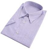 Dress shirt on white background Royalty Free Stock Image
