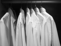 Dress shirts Royalty Free Stock Photos