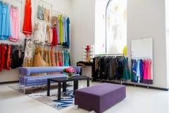 Dress shop Royalty Free Stock Photos