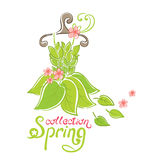 Dress - Spring Collection Stock Photo