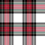 Dress stewart tartan fabric texture seamless pattern Stock Images