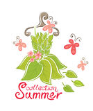 Dress - Summer Collection Royalty Free Stock Photography