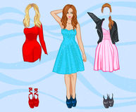 Dress Up game Stock Photography