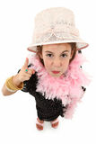 Dress Up Girl Stock Image