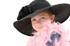 Dress Up Girl Royalty Free Stock Photo