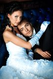 Dress weding Royalty Free Stock Image