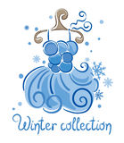 Dress - Winter Collection Stock Image