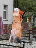 Dress on a woman mannequin Royalty Free Stock Photography