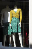 Dress on a woman mannequin in Weimar Stock Photos