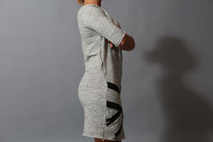 Dress with zippers Stock Photography