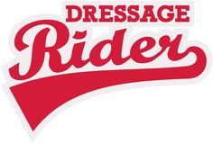 Dressage rider word Stock Photography
