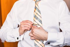 Dressed man Royalty Free Stock Photography