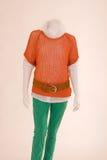 Dressed mannequin Stock Image