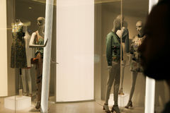 Dressed mannequins Royalty Free Stock Photo
