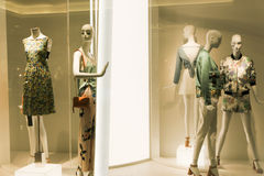 Dressed mannequins Royalty Free Stock Images