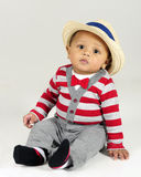 Dressed Up Baby Boy Royalty Free Stock Images
