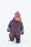 Dressed for winter Royalty Free Stock Photography