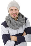 Dressed for winter Stock Image