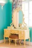 Dresser. Antique dresser near a window royalty free stock photo