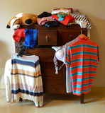 Dresser with things Stock Photography